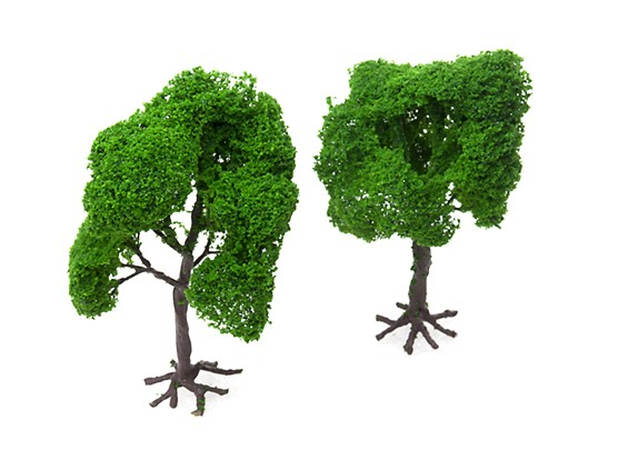 HobbyKing™ 140mm Scenic Wire Model Trees with Roots (2 pcs)