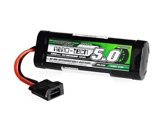 Turnigy nano-tech 5000mAh 9.6V 8P 10C NiMH Battery Hump Pack w/Flat Connector