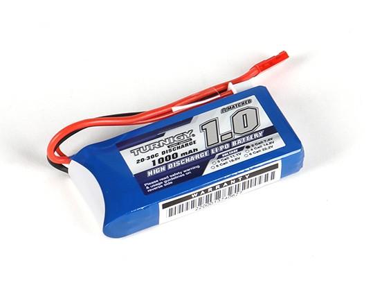 Turnigy 1000mAh 2S 20C Lipo pacote