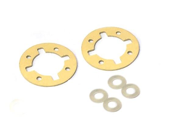 Engrenagem Diferencial O-Ring Set - 3Racing SAKURA FF 2014
