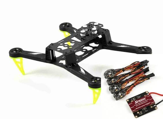 SCRATCH/DENT Spedix S250Q Racing Drone Kit w/ESC PDB Combo