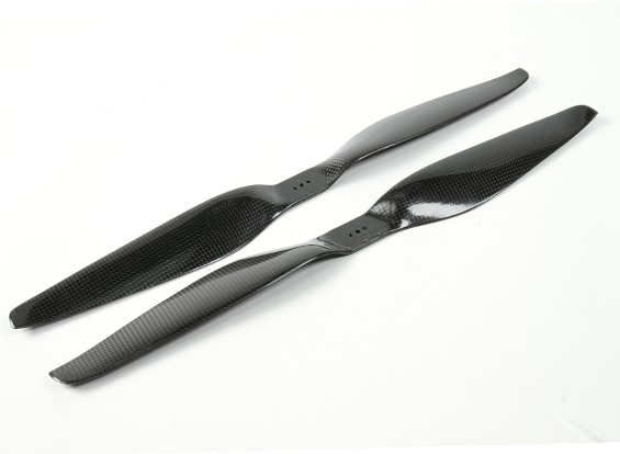 SCRATCH/DENT - Dynam 18x5.5 Carbon Fiber Propellers for Multirotors (CW and CCW) (1pair)