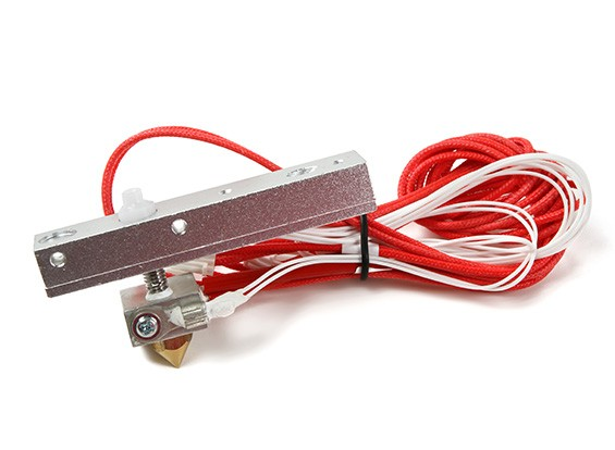 SCRATCH/DENT - Print-Rite DIY 3D Printer - Nozzle with leads