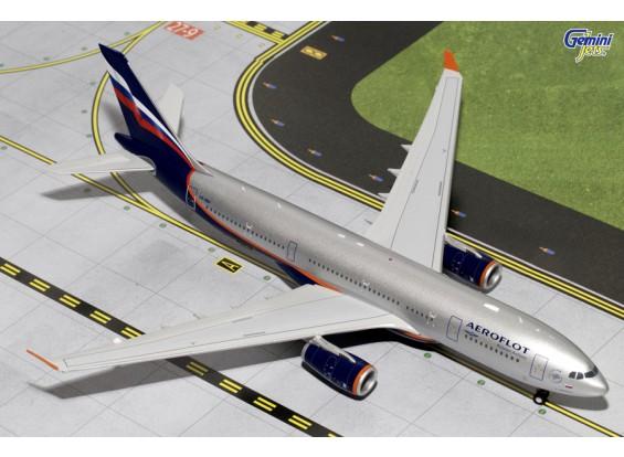 Gemini Jets Aeroflot Airbus A330-200 VQ-BBF 1:200 Diecast Model G2AFL370