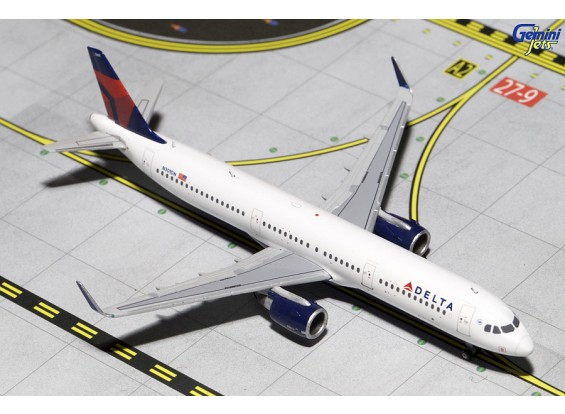 Gemini Jets Delta Airlines Airbus A321-200 'Sharklets' N301DN 1:400 scale GJDAL1411