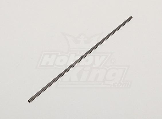 Tail boom SUS Micro Heli Actualiza 125 milímetros 1.1g