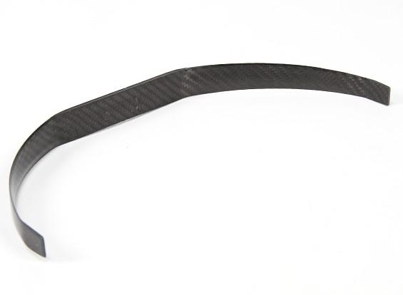 trem de pouso de fibra de carbono (tamanho 20cc)