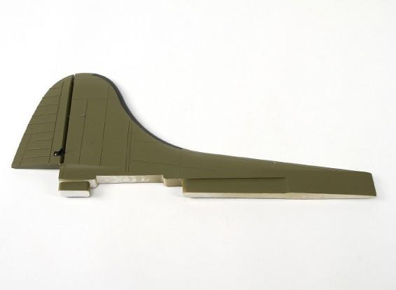 Hobbyking 1.875 milímetros B-17 F / G Flying Fortress (V2) (Olive) - Substituição Vertical Stabilizer