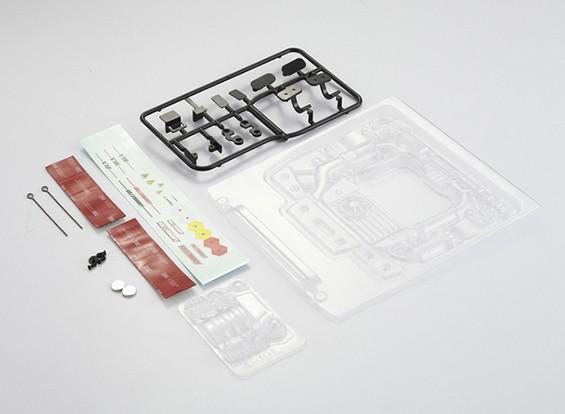 Kit Motor MatrixLine policarbonato para 1/10 Touring Cars # 1