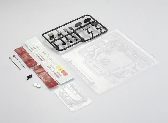 Kit Motor MatrixLine policarbonato para 1/10 Touring Cars # 3