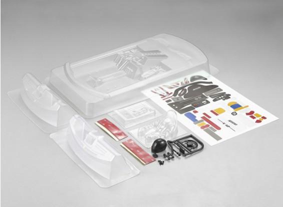 MatrixLine policarbonato motor traseiro Kit Cockpit para 1/10 Touring Cars