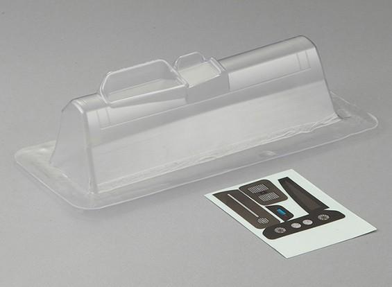 MatrixLine policarbonato Dashboard (LH) para 1/10 Corpos Touring