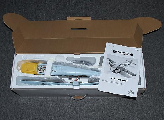 RISCO DENT Messerschmitt BF109E w-Stand 650 milímetros (PNF)