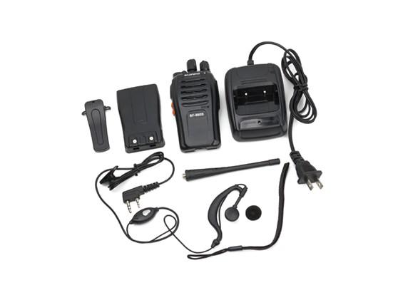 Baofeng BF-666S Rádio Portátil Two Way 5W 16 canais UHF Transceptor