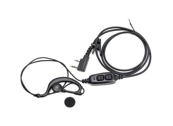 Baofeng UV82 dupla PTT fone de ouvido