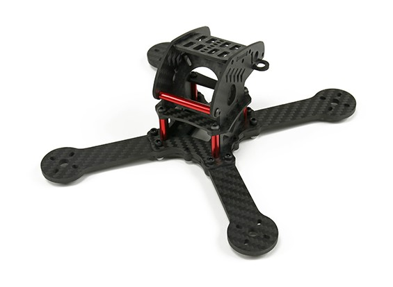 SpyderByte 190 relâmpago X Corrida Drone (Kit Frame)