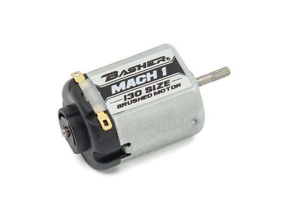 Basher Mach1 130 Tamanho Motor escovado (preto)
