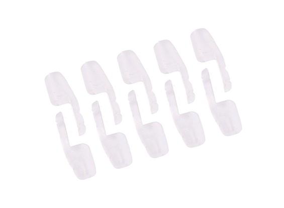 Medium Sized Nylon Snap-Clique Estilo Clevis 1,5 x 12 x 22 milímetros (10pc)