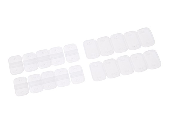 Nylon Landing Skid placa de fixação (10 conjuntos)