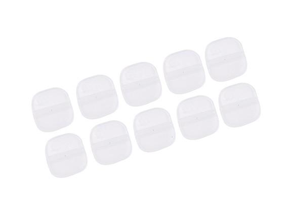 Nylon Dobradiças 10x8 (10pcs)