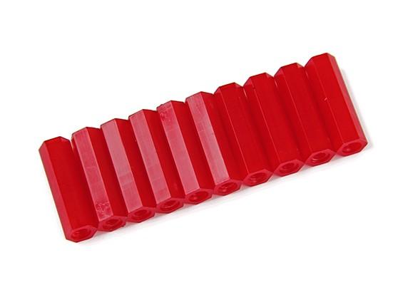 20 milímetros F / F M3 Spacer x10 - Red