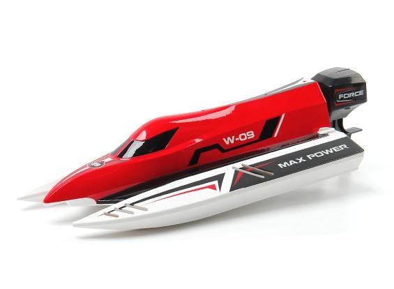 2.4G alta velocidade RTR sem escova F1 Racing Boat (440 milímetros) EUA plug
