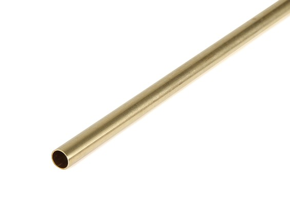 "K&S Precision Metals Brass Round Stock Tube 7/32"" OD x 0.014 x 36"" (Qty 1)"