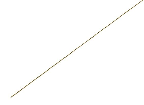 K&S Precision Metals Brass Rod 0.5mm x 1000mm (Qty 1)
