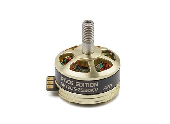 DYS SE 2205 Corrida Edição Pro 2550KV (CCW) (Fiação personalizado Opção)