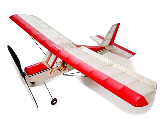Aeromax Micro interior Balsa Avião 400 milímetros Kit w / Motor