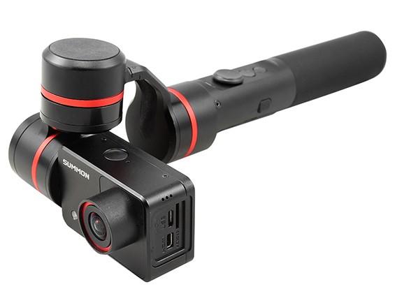 Feiyu-Tech Evocar 4k Ação Camera w / Integrated Handheld cardan e Wi-Fi