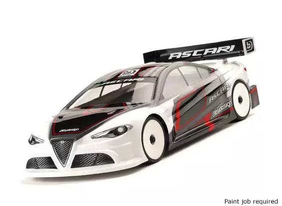 Bittydesign ASCARI 1/10 Touring Car Shell Corpo