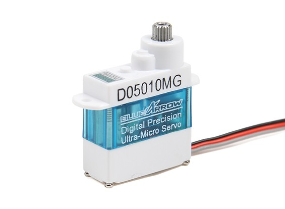 D05010MG 5,7 g / 0,61 kg / .07sec Digital Metal Gear Micro Servo