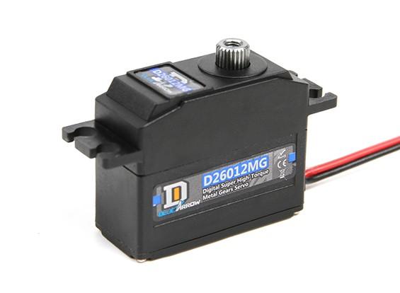D26012MG 29,7 g / 5 kg / .11sec High Torque Digital Servo MG