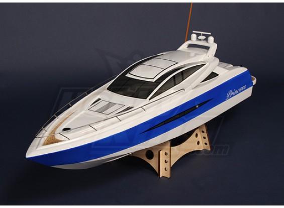 SCRATCH/DENT - Princess Brushless V-Hull R/C Boat (1000mm) E1131 (UK Warehouse)