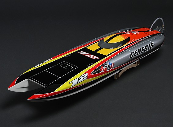 SCRATCH/DENT - Genesis Offshore Brushless RC Twin Hull (1045mm) E1143 (UK Warehouse)
