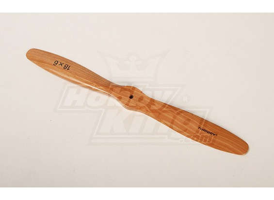 Turnigy Tipo C de madeira claro da hélice 18x6 (1pc)