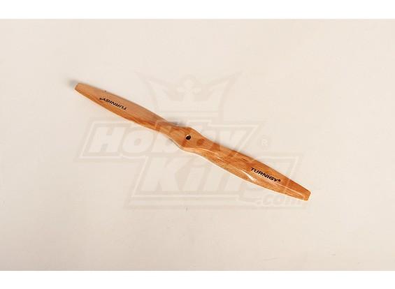 Turnigy Tipo D de madeira claro da hélice 12x7 (1pc)