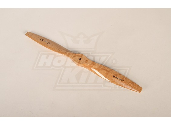 Turnigy Tipo D de madeira claro da hélice 17x10 (1pc)