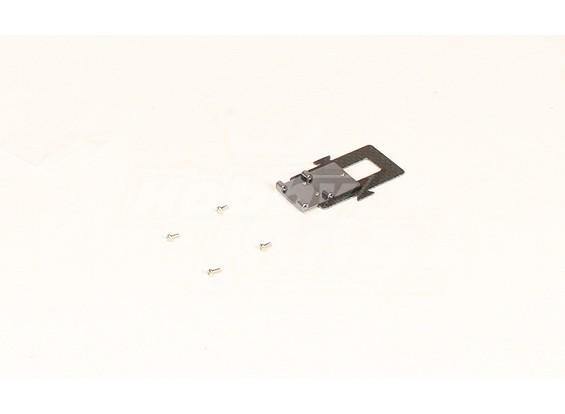 HK450V2 fibra de carbono bandeja de bateria