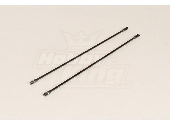 HK450V2 de fibra de carbono e metal Cauda Apoio Rod