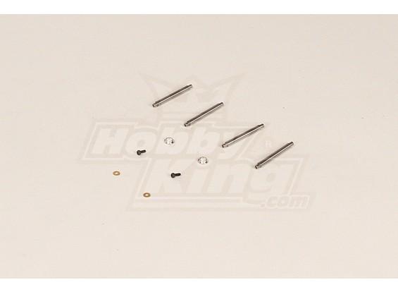 HK450V2 Feathering Shaft Set (41x4mmxM2)
