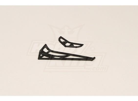 Fin cauda GT450PRO plástico Horizontal / Vertical