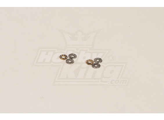 GT450PRO rotor principal Thrust Bearing Set (3x8x3.5mm)