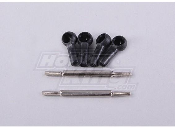 Rear Camber Ligação Conjunto 2 pcs - 118B, A2006, A2035 e A2023T