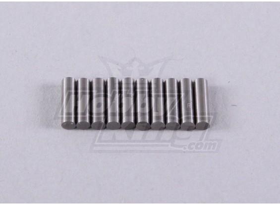 Pin para 10pc Diff.gear-Short - 118B, A2006, A2035 e A2023T