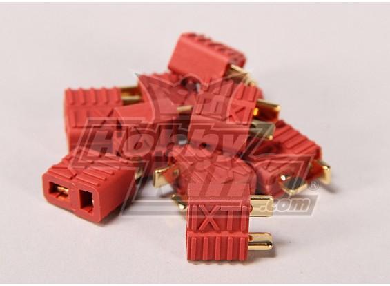 Nylon T-conectores fêmeas (10pcs / saco)