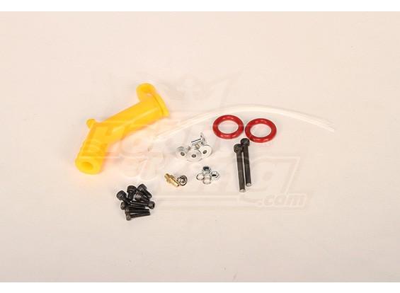 Completas Peças para Hatiro / RJX90 silenciador (OS & YS) Tubo amarelo