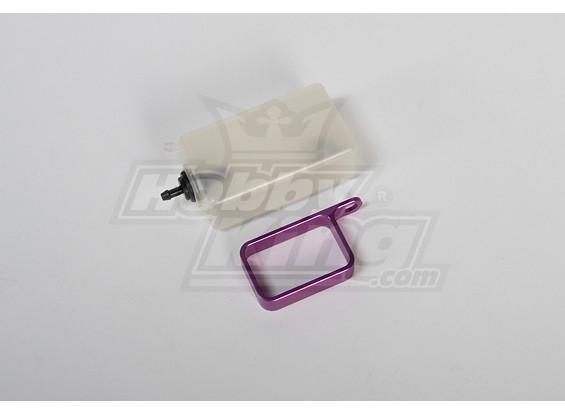 Header Tanque w / suporte de metal (roxo)