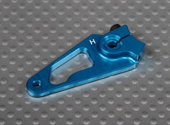 CNC Heavy Duty 1.25in alumínio Servo Arm - Hitec (azul)